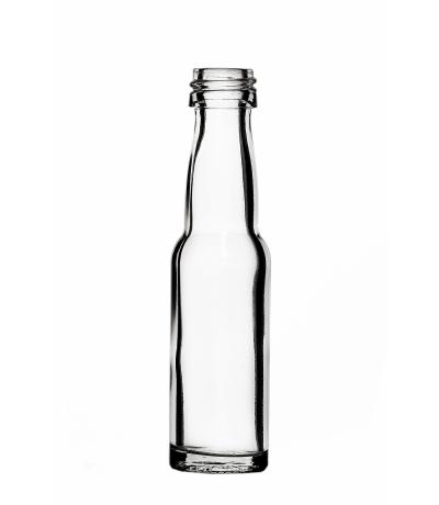 Portionsflasche rund 40 ml -ab 6 Stück/Stück