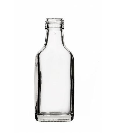 Portionsflasche eckig 40 ml