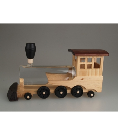 Holzlokomotive