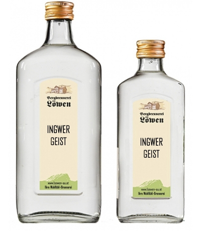 Ingwer Schnaps 40%