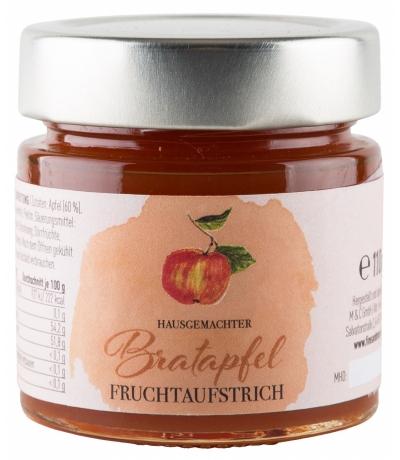 Bratapfel Fruchtaufstrich 200g