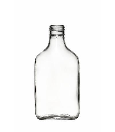 Taschenflasche oval 200 ml