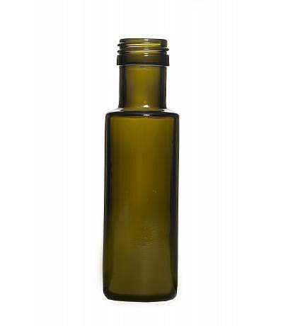 Essig- und Ölflasche antik rund 100ml