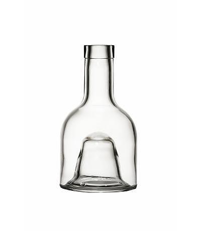 Stapelflasche rund Oberteil 250ml