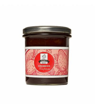 Erdbeer Konfitüre Premium 380g