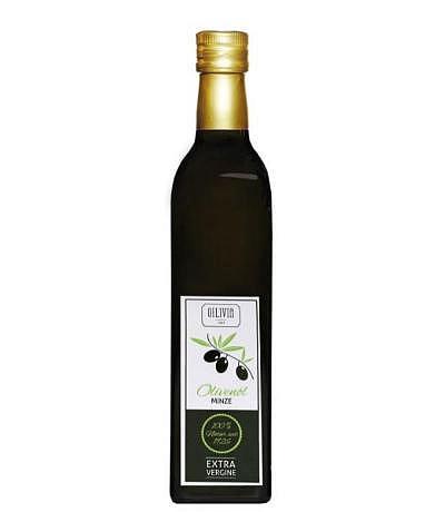 Olivenöl mit Minze