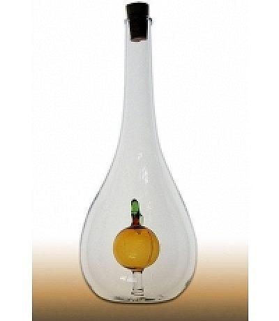 Goute mit Frucht innen Farbglas