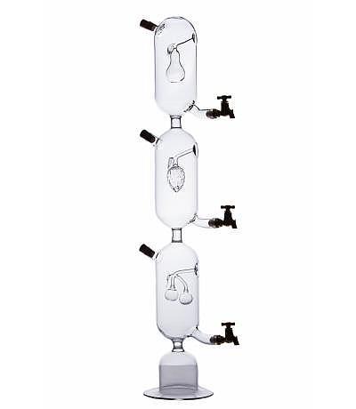 Schnapsturm mit 3 Kammern