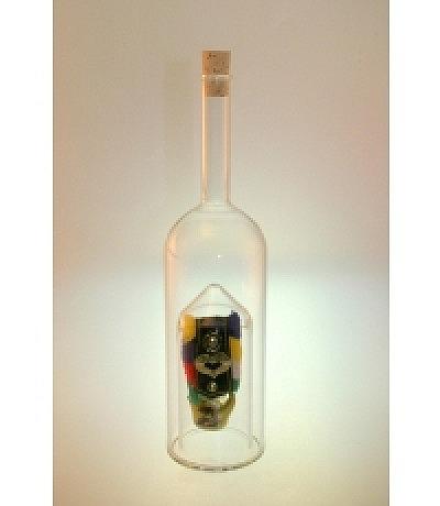 Kuhglockenflasche