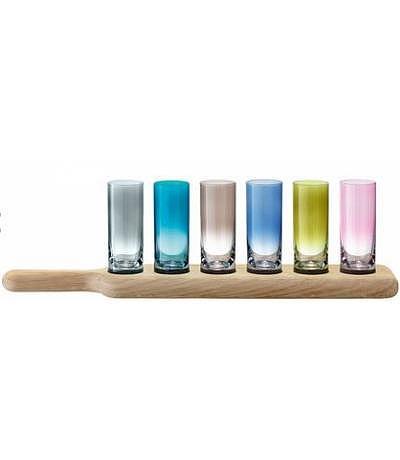 Paddle Wodka Set farbig