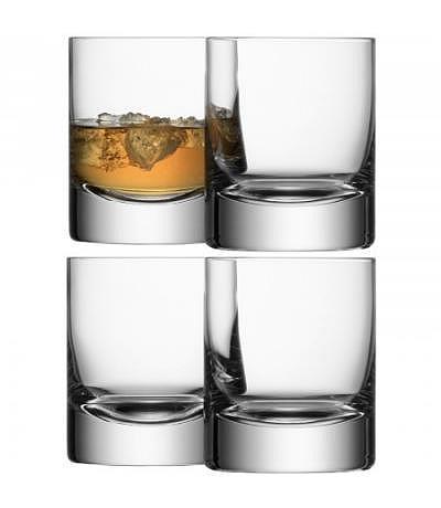 Whiskyglas Bar klar 4er Set 250ml