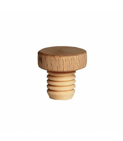 Holzgriffkorken flach