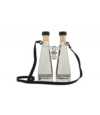 Fernglas mit schwarzem Trageband 350ml